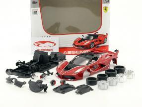 Ferrari FXX K Metal Model Kit rot / schwarz 1:24 Maisto