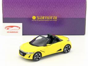 Honda S660 Baujahr 2016 gelb metallic 1:18 Kyosho