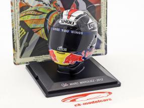 Marc Marquez World Champion Moto2 2012 helmet 1:5 Altaya
