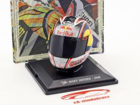 Nicky Hayden Weltmeister MotoGP 2006 Helm 1:5 Altaya