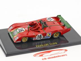 Ferrari 312 PB #16 2nd 24h LeMans 1973 Merzario, Pace avec vitrine 1:43 Altaya