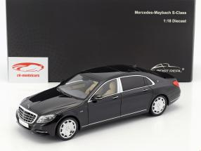 Mercedes-Benz Maybach S-Class year 2016 black 1:18 Almost Real