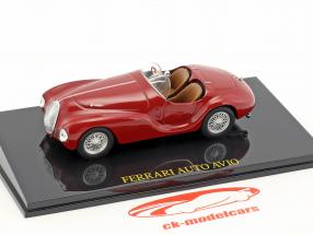 Ferrari Auto Avio rot mit Vitrine 1:43 Altaya