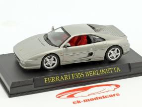 Ferrari F355 Berlinetta silber 1:43 Altaya