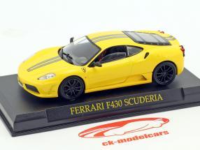 Ferrari F430 Scuderia yellow 1:43 Altaya