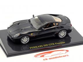 Ferrari 599 GTB Fiorano black with showcase 1:43 Altaya