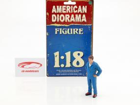 mechanic John figure 1:18 American Diorama