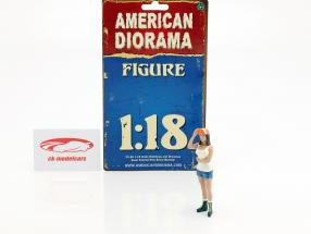 Hot Rodder Nancy figure 1:18 American Diorama