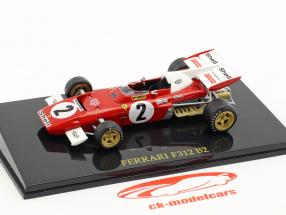 Jacky Ickx Ferrari F312 B2 #2 Formel 1 1971 mit Vitrine 1:43 Altaya