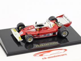 Niki Lauda Ferrari 312T2 #1 formule 1 1976 avec vitrine 1:43 Altaya