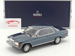 Mercedes-Benz 280 CE année de construction 1980 bleu métallique 1:18 Norev