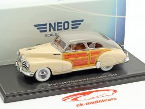 Chevrolet Fleetline Aerosedan anno di costruzione 1948 beige 1:43 Neo