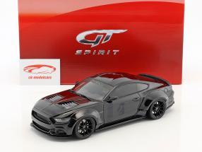 Ford Mustang by Toshi anno di costruzione 2017 nero 1:18 GT-Spirit
