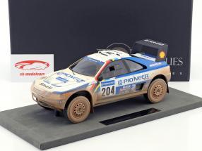 Peugeot 405 T16 Dirty Version #204 gagnant Paris - Dakar 1989 Vatanen, Berglund 1:18 TopMarques