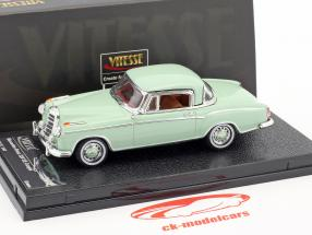 Mercedes-Benz 220 SE coupe year 1958 bright green 1:43 Vitesse