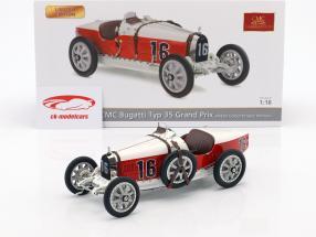 Bugatti tipo 35 Grand Prix #16 Nation Colour Project monaco 1:18 CMC