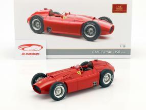 Ferrari D50 anno di costruzione 1956 rosso 1:18 CMC