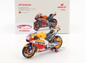 Dani Pedrosa Honda RC213V #26 gagnant San Marino MotoGP 2016 1:12 Spark