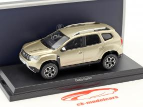 Dacia Duster Baujahr 2018 dünen beige metallic 1:43 Norev