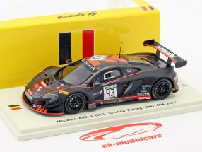 McLaren 650 S GT3 #43 24h Spa 2017 Fumanelli, Kane, Tordoff 1:43 Spark