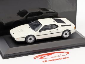 BMW M1 white 1:43 Minichamps