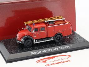Magirus Deutz Mercur vigili del fuoco Solingen rosso 1:72 Atlas