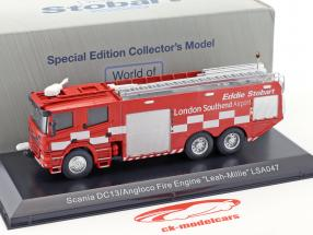 Scania DC13 Angloco Fire Engine Leah-Millie LSA047 red 1:76 Atlas