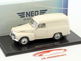 Volvo Duett PV445 année de construction 1956 beige clair 1:43 Neo