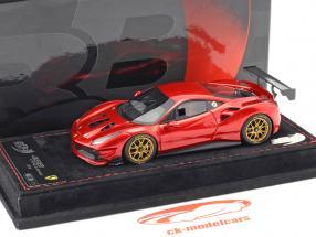 Ferrari 488 Challenge anno di costruzione 2016 fuoco rosso metallico 1:43 BBR