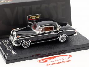 Mercedes-Benz 220 SE coupe year 1959 black 1:43 Vitesse