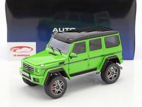 Mercedes-Benz G-Class G500 4x4² année de construction 2016 alien vert 1:18 AUTOart