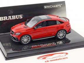 Brabus 850 4x4 coupe based on Mercedes-Benz AMG GLE 63 S Construction year 2016 red 1:43 Minichamps