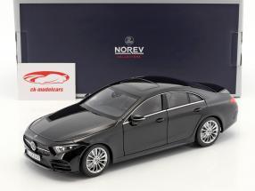 Mercedes-Benz CLS-Klasse Coupe Baujahr 2018 schwarz 1:18 Norev