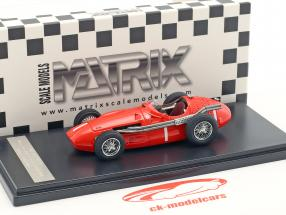 Stirling Moss Maserati 250F #1 Winner Goodwood Glover Trophy 1956 1:43 Matrix