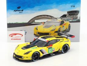 Chevrolet Corvette C7.R #63 24h LeMans 2017 Magnussen, Garcia, Taylor 1:18 Spark