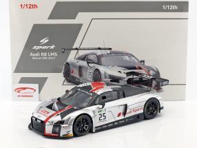 Audi R8 LMS #25 gagnant 24h Spa 2017 Gounon, Winkelhock, Haase 1:12 Spark