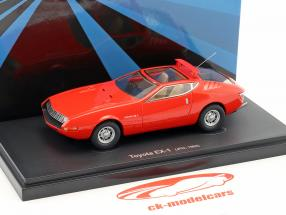 Toyota EX-1 year 1969 red 1:43 AutoCult