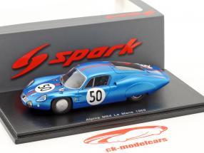 Alpine M64 #50 24h LeMans 1965 Vidal, Revson 1:43 Spark