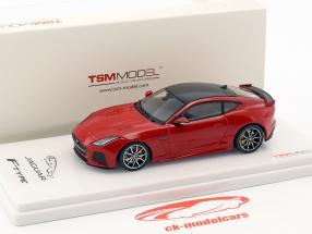Jaguar F-Type SVR AWD caldera rosso 1:43 TrueScale