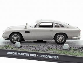 Aston Martin DB5 de James Bond película Goldfinger de coches Silver 1:43 Ixo