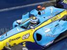Jarno Trulli Renault R24 motore RS24 #7 formula 1 2004 1:43 Minichamps