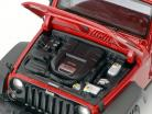 Jeep Wrangler Willys year 2014 red / black 1:18 Maisto