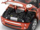 Mini Cooper Cabrio rosso 1:24 Maisto