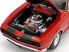 Chevrolet Camaro 427 année de construction 1967 rouge / noir 1:18 GMP