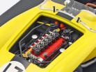 Ferrari 250 Testa Rossa #17 Baujahr 1958 gelb / schwarz 1:12 GP Replicas