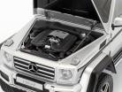Mercedes-Benz G-Class G500 4x4² year 2016 silver 1:18 AUTOart