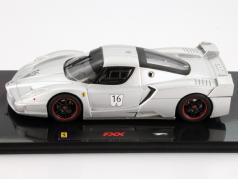 Ferrari FXX #16 Nürburgring silber 1:43 HotWheels Elite