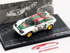 Lancia Stratos HF #10 Rallye Monte Carlo 1976 Munari / Maiga 1:43 Altaya