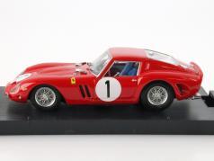Ferrari 250 GTO #1 1000km Paris 1962 Rodriguez / Rodriguez 1:43 Brumm