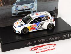 Volkswagen VW Polo #1 WRC Version 2014 Ogier / Ingrassia 1:43 Spark
